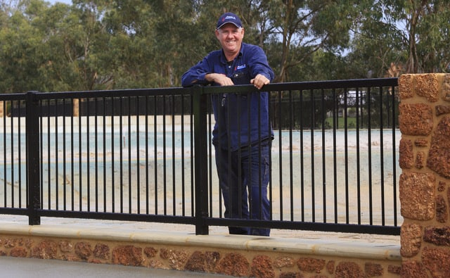 Completed Coffee Rock and powdered coated fencing-Dunsborough-Busselton-Vasse-Quindalup-Eagle Bay-Cowaramup-Margaret River and Yallingup-0418 903 281 1