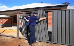 Installation of Colourbond fencing-Dunsborough-Busselton-Vasse-Quindalup-Eagle Bay-Cowaramup-Margaret River and Yallingup-0418 903 281 1