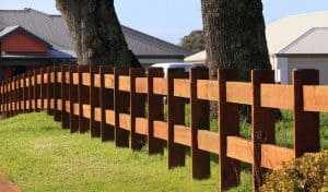 Post and Rail timber fencing-U-Name It- Fencing Contractors-0418 903 281
