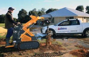 post hole small digger for fencing-Dunsborough-Busselton-Vasse-Quindalup-Eagle Bay-Cowaramup-Margaret River and Yallingup-0418 903 281 1